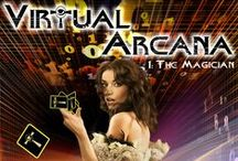 Virtual Arcana / My YA series: Virtual Arcana. The Notebook meets The Matrix with a sprinkle of The Giver.  YA, dystopian, sci-fi, romance, future, virtual reality