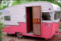 campers/travel trailers / by Trina Wilkey Ball