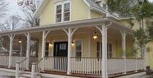Curb Appeal / Inspiration for the front door and store front