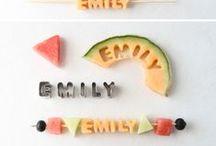 TREAT: FRUIT FUN / Fruity fruity fun