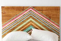 HOME: HEADBOARDS / Headboards to make and upcycle