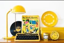 COLOUR: YELLOW / Yellow mellow...