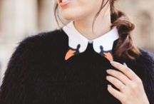WEAR: COLLARS / Cool collars and lapel embellishments