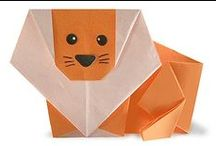 CREATE: ORIGAMI / Things to create and make out of paper