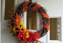 Fall and Halloween / Decor and recipes for the Fall Holidays