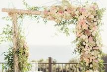 Arches, Arbors, Chuppahs, Pergolas... / Floral ideas for any and all / by Edy Rameika