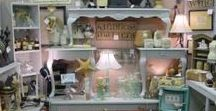 booth ideas / Tips and themes for staging an antique mall booth