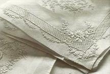 Vintage Linens / Vintage Linens, lace, doillies