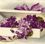 Vintage Graphics / Vintage greeting cards and advertising artwork.