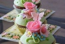 Spring Inspiration / Food and Flowers in cheerful bright colors and delicate pastels.