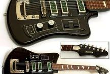 Abstract Guitars