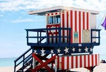 Patriotic ~ Red, White & Blue / All Amercian Beauty