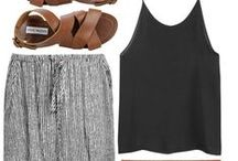 bare necessities / must have outfits, shoes and jewelry / by Taylor Green
