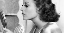 """Vintage inspired hair & make-up / """"Beauty is how you feel inside, and it reflects in your eyes. It is not something physical."""" Sophia Loren"""