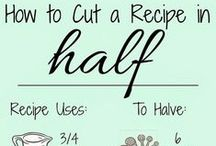 Cooking tips / by Renee Shepard Allen