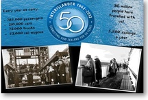 Connecting NZ for 50yrs! / On August 13 2012 Interislander Cook Strait ferry celebrated 50yrs of connecting the North & South Islands of New Zealand. Here's to another 50!