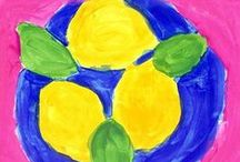 Yellow! / Lemon & Golden Sunshine & Butter Cream & Dijon Mustard