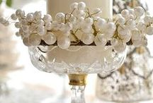 Deco Style Christmas / Gatsby Inspired Christmas ~ Pearls & Platinum, Gold & Glitter