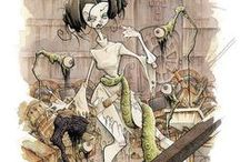ILLUSTRATION: by Gris Grimly / #Gris #Grimly