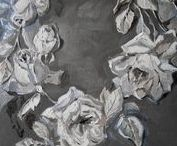 Gray ~ Grey ~ Gris ~ Grigio...Matter / Hints of Foggy, Misty Grays {Greys} to the Deepest Charcoals