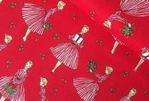 Christmas Fabric / Daily Christmas fabric inspiration in 2015 from The Village Haberdashery in London. Shop at http://bit.ly/christmasfabric and follow @vhaberdashery or #christmasfabricoftheday on Instagram!