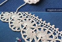 Lovely Lace / Knitting and crochet pattern ideas