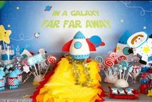 Space Party / All things space and astronauts for a space birthday party #spaceparty #spacebirthday #spacebirthdayparty #astronautparty #astronautbirthday #astronautbirthdayparty / by I Will Invitations