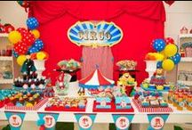 Circus / Carnival Party / All things circus and carnival for a circus birthday party #circusparty #circusbirthday #circusbirthdayparty #carnivalparty #carnivalbirthday #carnivalbirthdayparty / by I Will Invitations