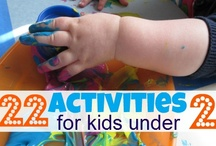 Let's Get Crafty, Kiddo! / Some cool crafts and ideas to do with and for your little ones.