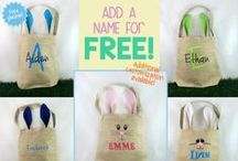 Bunnies & Eggs / Easter board - because apparently Easter is all about bunnies and eggs... :P