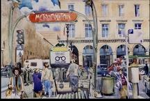 Watercolors / My paintings