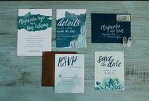 Signed, Sealed, Delivered / Wedding stationery inspiration