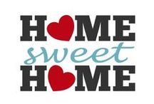 Home • Sweet • Home / by Pinaholic ℳyяie ♥