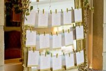 Have a Seat! / Inspiring seating plan ideas for your wedding