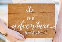 Sweet Signage / Sweet signage for your wedding