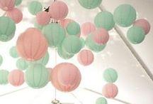 Mint & Blush Wedding Theme / Blushing minty gorgeousness!