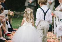Flower Girls and Pageboys / Cuteness overload right here!