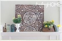Finding DIY Home Decor Inspiration / A board dedicated to DIY home decor ideas, tutorials and inspiration.