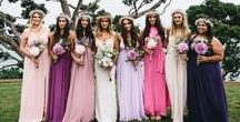 Mismatched Bridesmaid Dresses / So, in honor of wedding season and because you already know the mismatched bridesmaid trend isn't going anywhere, we've pulled together some of our favorite looks that you will fall in love with no matter your style.