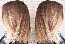 Crinières blondes