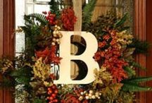 Wreath Ideas for all occassions / by Kellie Baucom