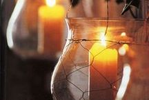 Candles/Candleholders / by The Little Corner