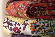 Fabrics (Linens, Blankets,Throws,Towels, etc) / by The Little Corner