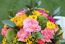 flower arrangements... / by Rita Rieger