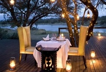 GOTTA LUV DINING OUTDOORS! / outdoor dining ideas...