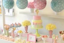 Inspiración para fiestas / Ideas inspiradoras para la celebración de fiestas / by My Little Party Fiestas con Estilo