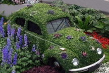 GOTTA LUV GREEN ON THE GO! / Here you will find ...if it's got wheels and green in it... it's whimsical green on the go!