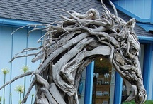 GOTTA LUV DRIFTWOOD! / items made from drift wood pieces