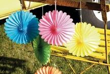 Abanicos de Papel {Decoración} / Inspiración en la Decoración con Abanicos de Papel y productos que se pueden encontrar en la tienda online My Little Party / by My Little Party Fiestas con Estilo