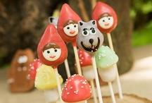 Caperucita Roja {Fiestas Temáticas} / Ideas para organizar una fiesta de caperucita roja. / by My Little Party Fiestas con Estilo